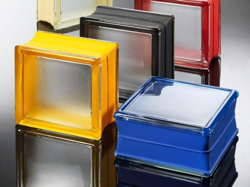 Facciata strutturale vetrata / Blocco di vetro MINI by Seves glassblock