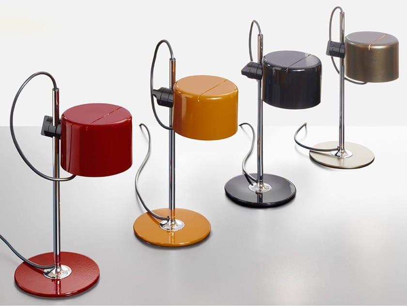 Lampada da tavolo a LED orientabile in metallo MINI COUPÉ by Oluce