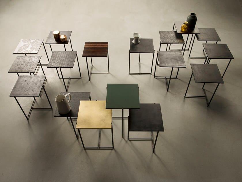 Square coffee table MINI by Capo d'Opera