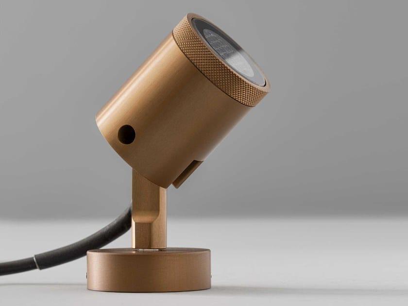 Proiettore per esterno a LED orientabile in metallo MINI DOT SPOT by Olev