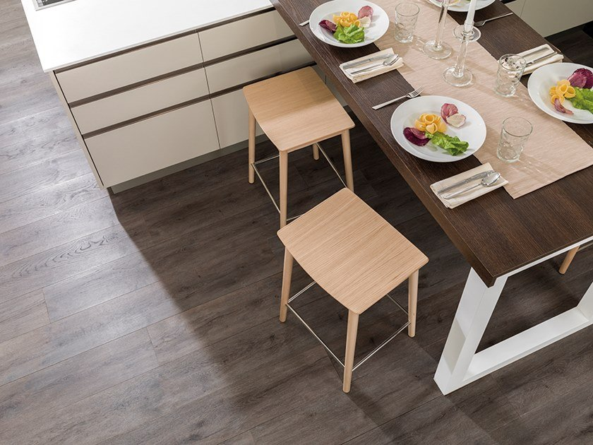 Floating brushed wooden parquet MINI IMPERIAL by L'ANTIC COLONIAL