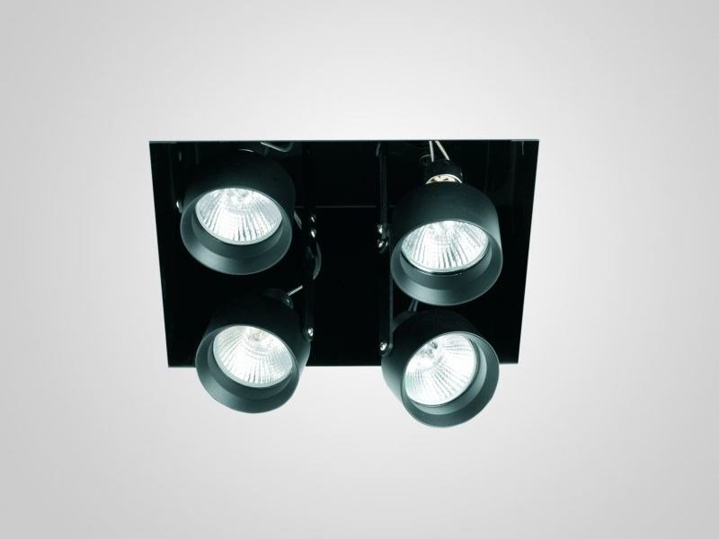 Recessed adjustable painted metal spotlight MINI INCAS | Multiple spotlight by LUCIFERO'S