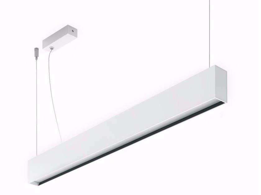 Lampada a sospensione a luce diretta mini outline p by linea light