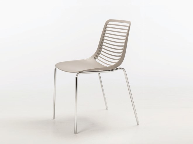 Stackable Nylon® chair MINI ROUND by Casprini