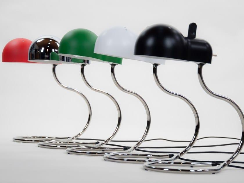 Adjustable metal table lamp MINI TOPO by Stilnovo