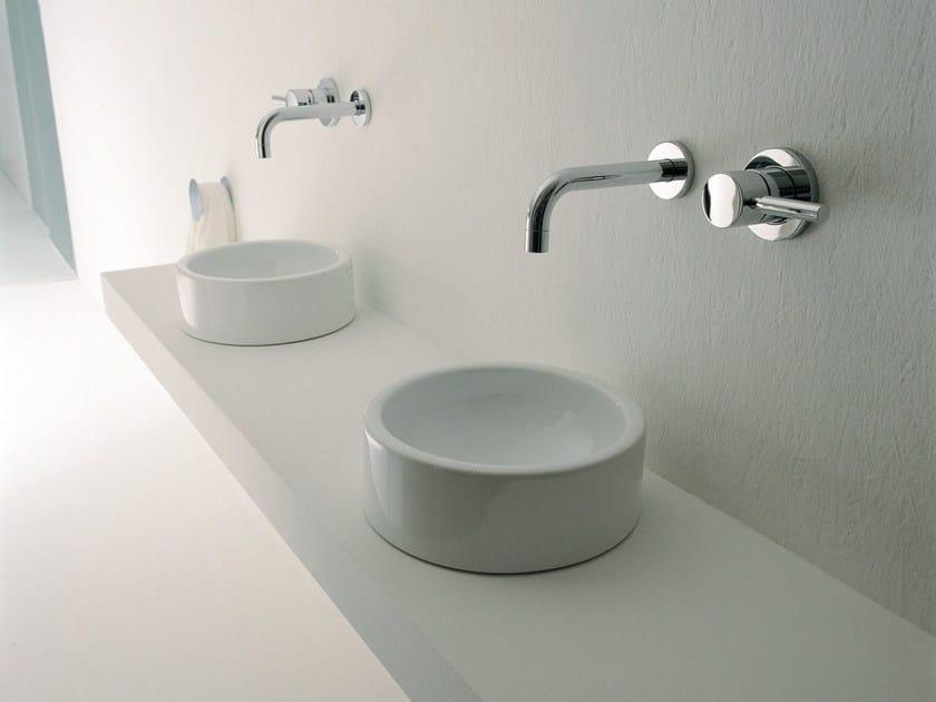 mini twin aufsatzwaschbecken by ceramica flaminia design. Black Bedroom Furniture Sets. Home Design Ideas