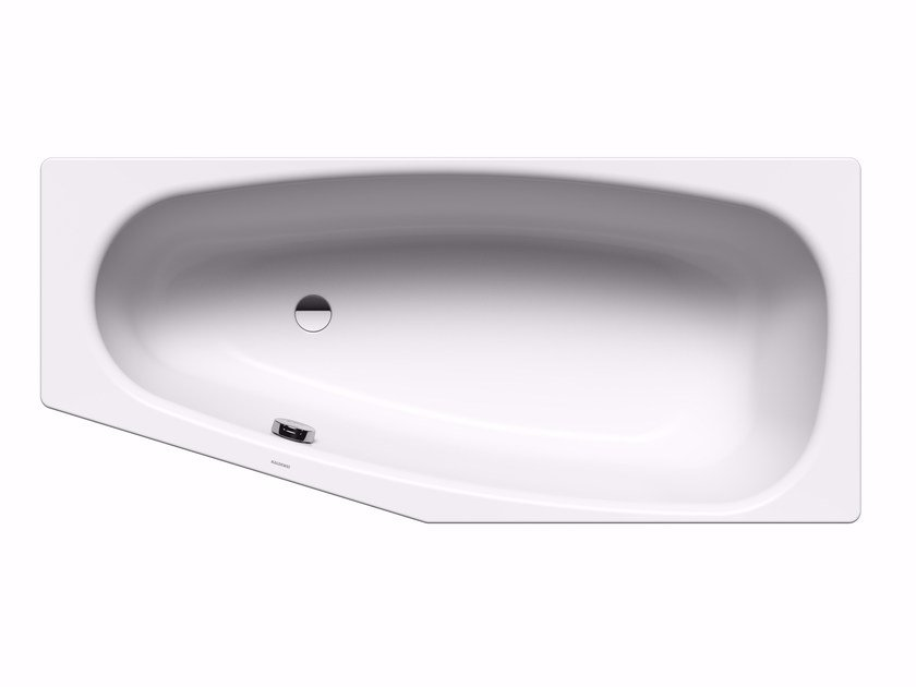 Built-in enamelled steel bathtub MINI left by Kaldewei Italia