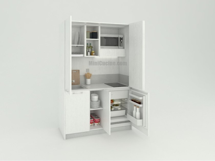 Hideaway Mini Kitchen MINICOMPACT 139 by MiniCucine.com
