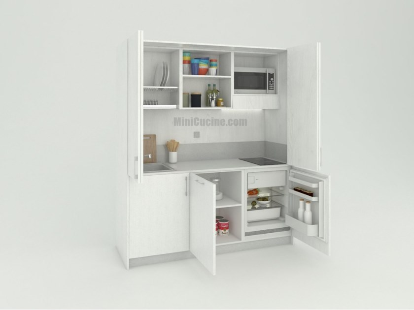 Hideaway Mini Kitchen MINICOMPACT 184 by MiniCucine.com