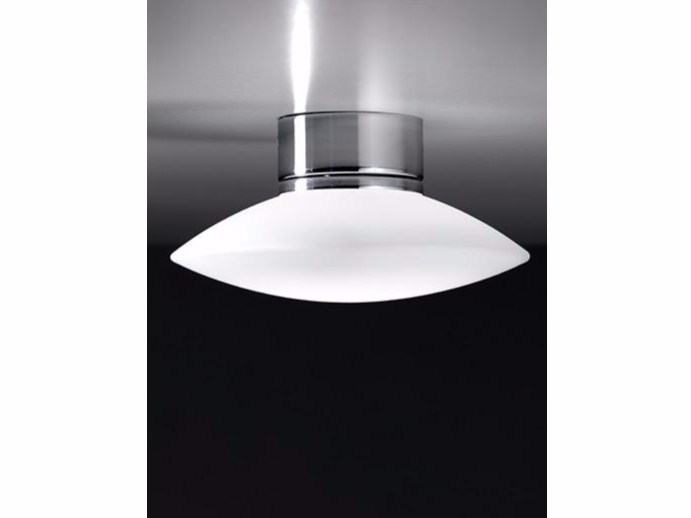 LED glass ceiling lamp MINIBIS   Ceiling lamp by Ailati Lights