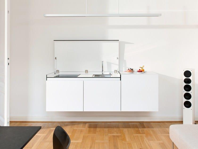 Versteckte Mini-Küche aus HPL MINIKI SLIMLINE By miniki Design ...