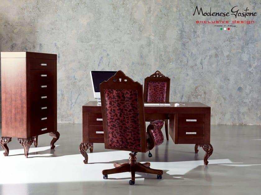 Cassettiera ufficio in legno minimal baroque cassettiera ufficio