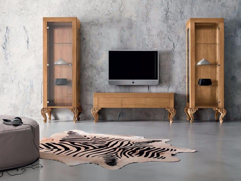 Legno In Gastone Minimal Modenese BaroqueMobile Tv I7gbfvm6Yy