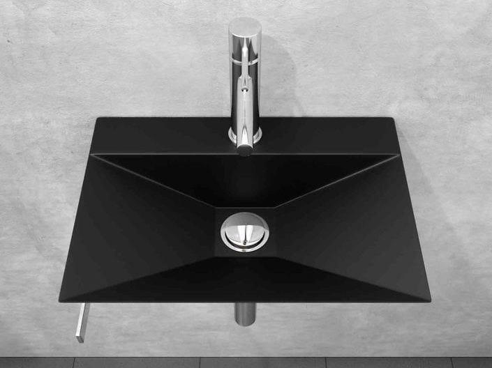 Lavamani in acciaio inox con porta asciugamani MINIMAL by Componendo