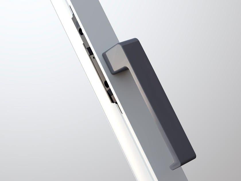 Die cast aluminium window handle MINIMAL DESIGN by MASTER