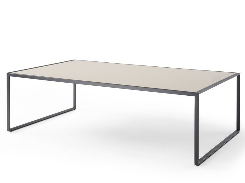 Low square coffee table MINIMIZE | Low coffee table by YOMEI