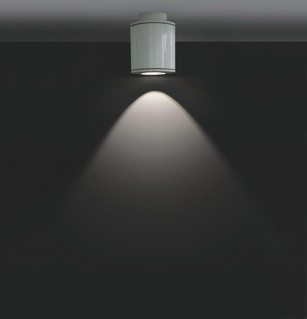 Extruded aluminium ceiling lamp MINIMOK F.2730 by Francesconi & C.