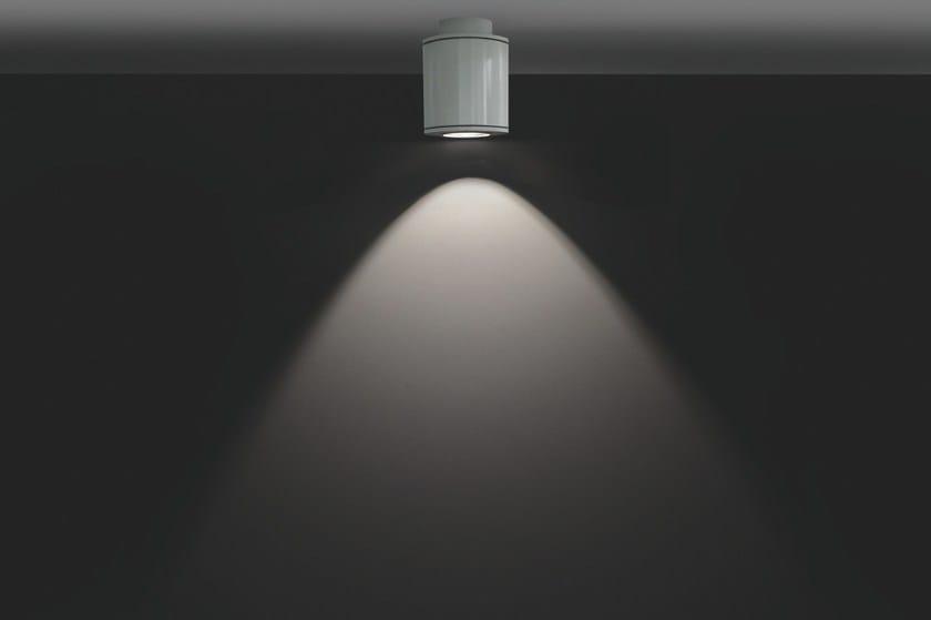 LED extruded aluminium ceiling lamp MINIMOK F.2733 by Francesconi & C.