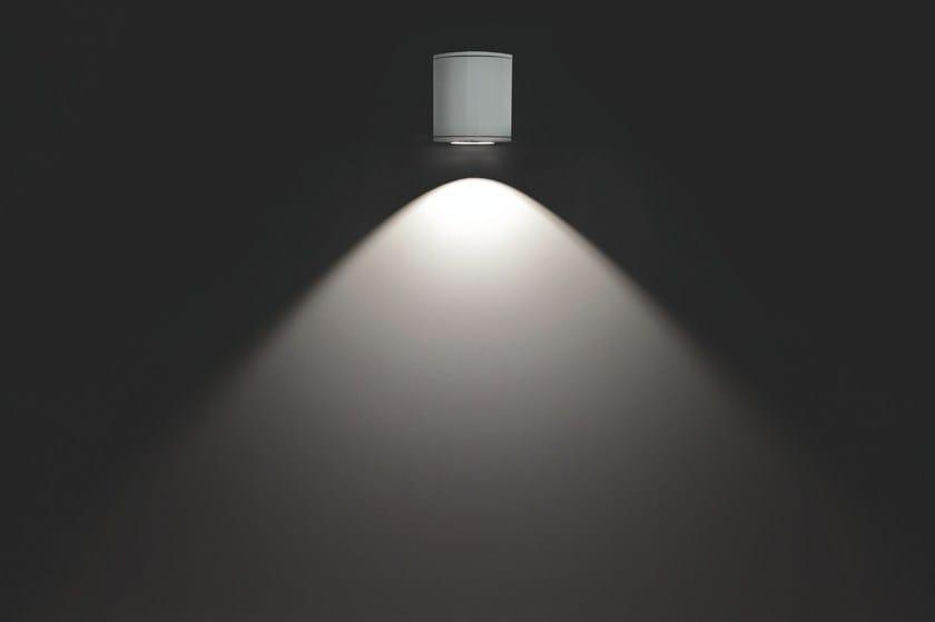 Aluminium wall lamp MINIMOK F.6845 by Francesconi & C.