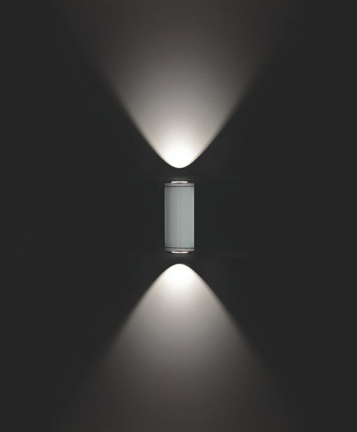 Contemporary style direct-indirect light aluminium Wall Lamp MINIMOK F.6853 by Francesconi & C.