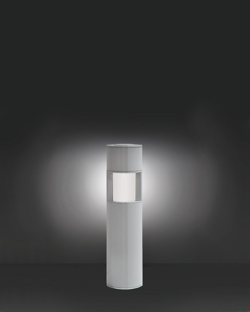 Aluminium bollard light MINIMOK F.8125 by Francesconi & C.