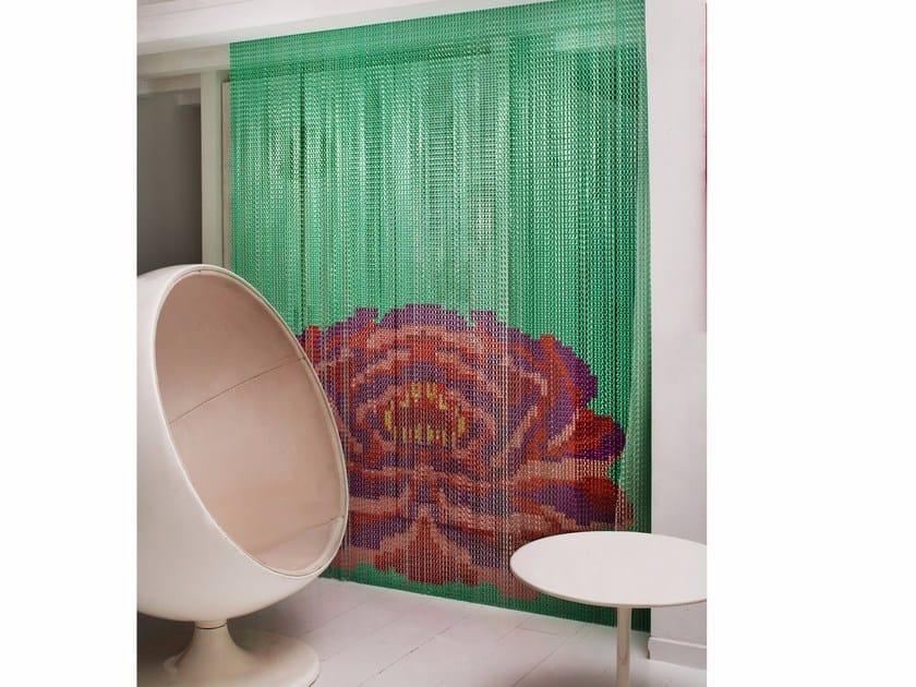 Aluminium chain curtain MINT LOTUS by Kriskadecor