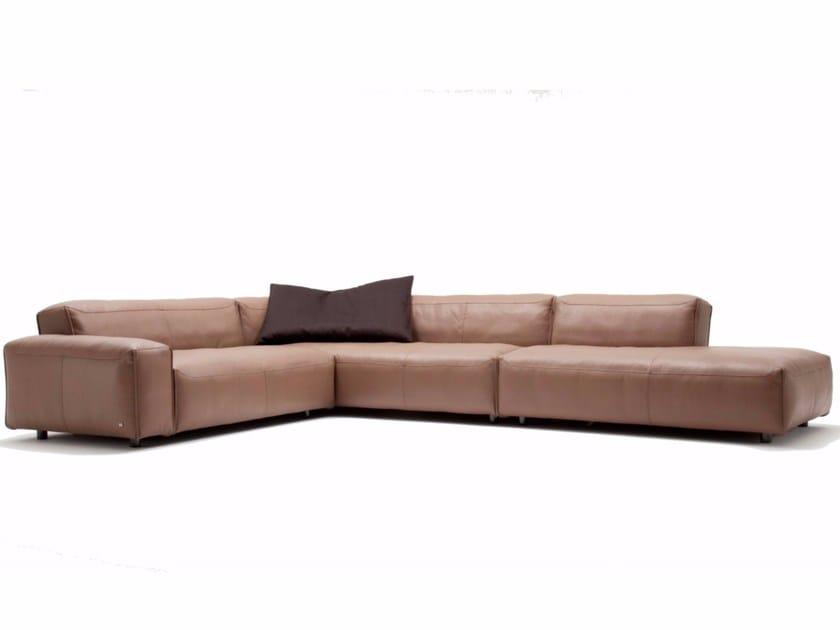 MIO | Corner sofa Mio Collection By Rolf Benz design BECK DESIGN