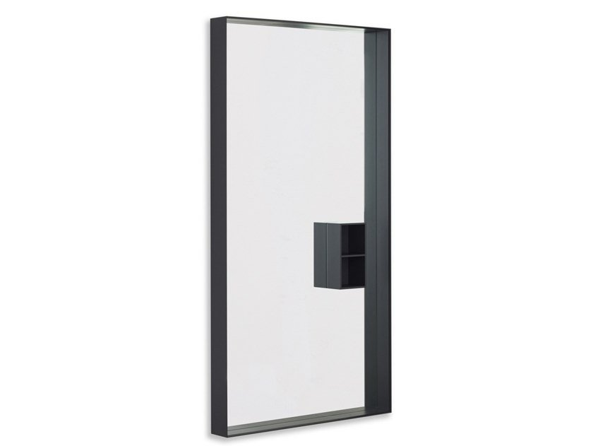Mir miroir rectangulaire by desalto design marco acerbis for Miroir rectangulaire design