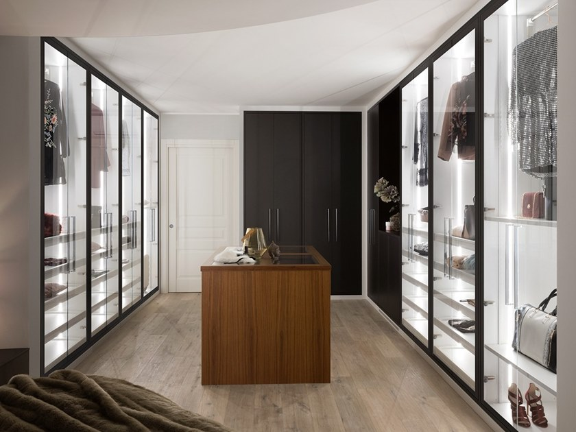 Walk-in wardrobe MIRA | Walk-in wardrobe by Prestige