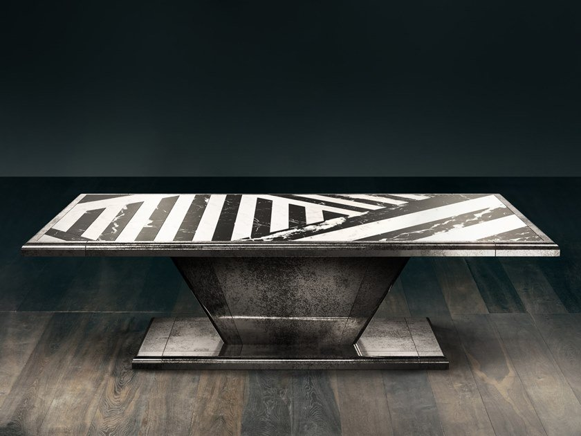 Rectangular table MIRAGE D'OR by GIOPAGANI