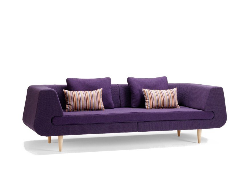 Fabric sofa MIRAGE | Sofa by Stouby