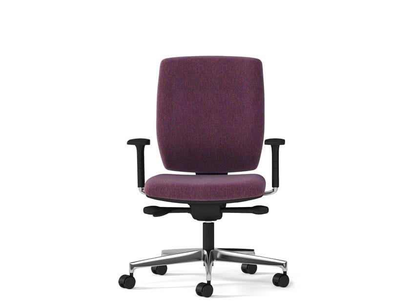 Swivel task chair with 5-Spoke base MIRAI 24 | Task chair by Arte & D