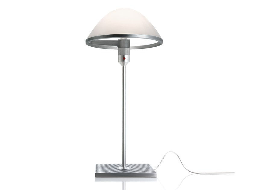 LED blown glass table lamp MIRANDA by LUCEPLAN