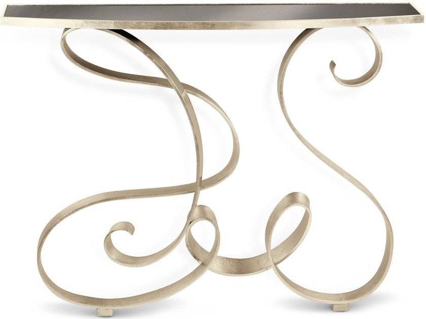 Iron console table MIRO' ART by Cantori
