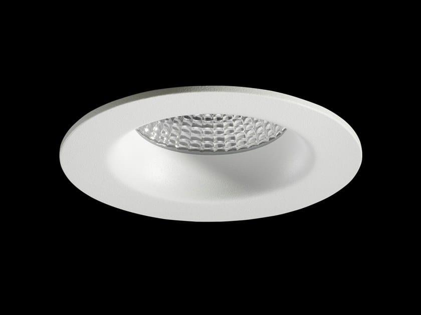 Faretto a LED rotondo in alluminio verniciato a polvere da incasso MIRO by LUNOO