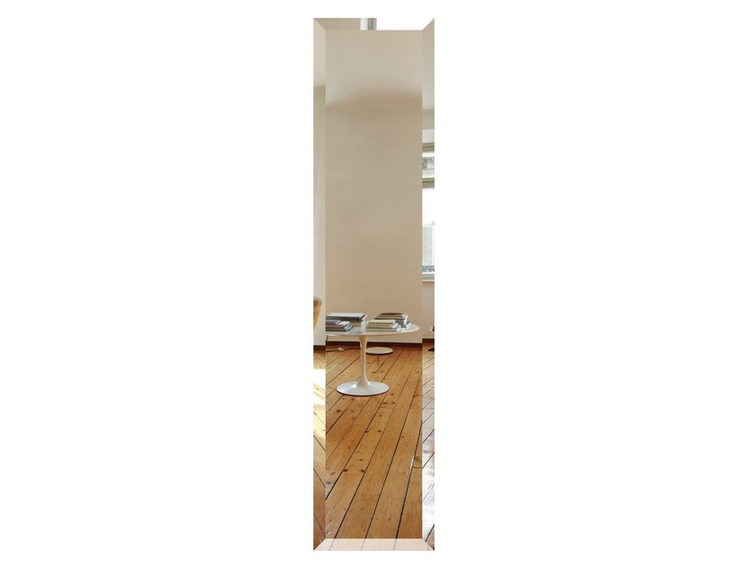Wall-mounted Olycale® radiator MIROIR BIZO by Cinier