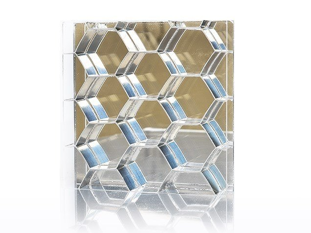 Composite material prefabricated wall panel MIRROR COLLECTION™ by Bencore®