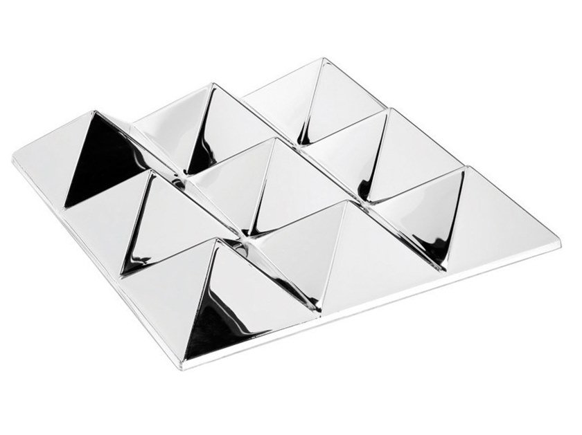 Modular 3D Wall Tile MIRROR SCULPTURES 9 by Verpan
