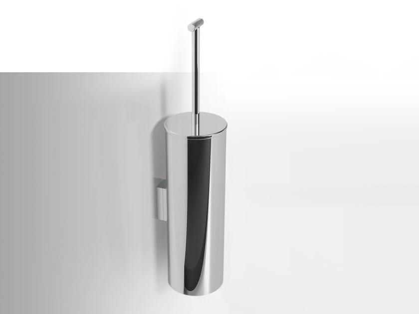 Wall-mounted metal toilet brush MIRTO | Wall-mounted toilet brush by Alna