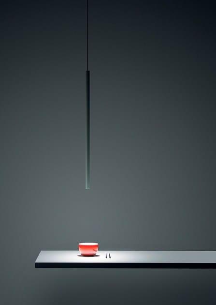 LED metal pendant lamp MISS by DAVIDE GROPPI