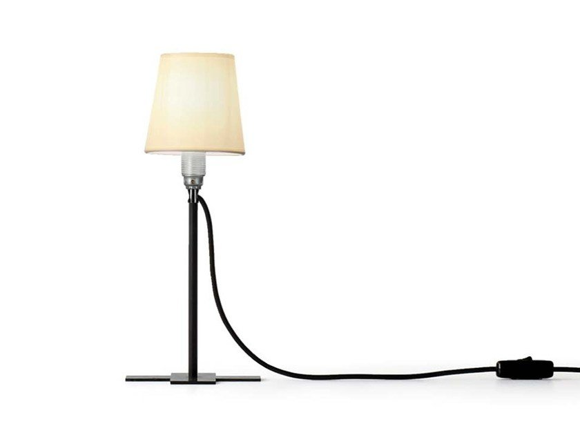 LED steel table lamp MISS SWISS by Nils Holger Moormann