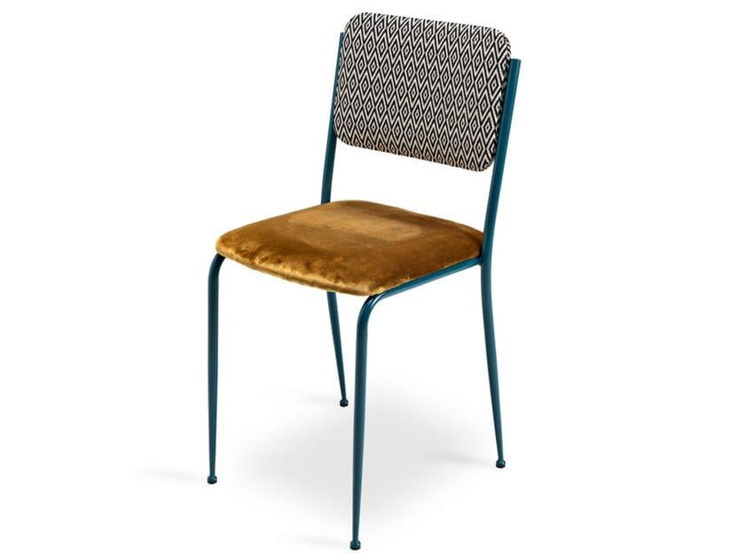 Upholstered velvet chair MISS TINA by Lalabonbon