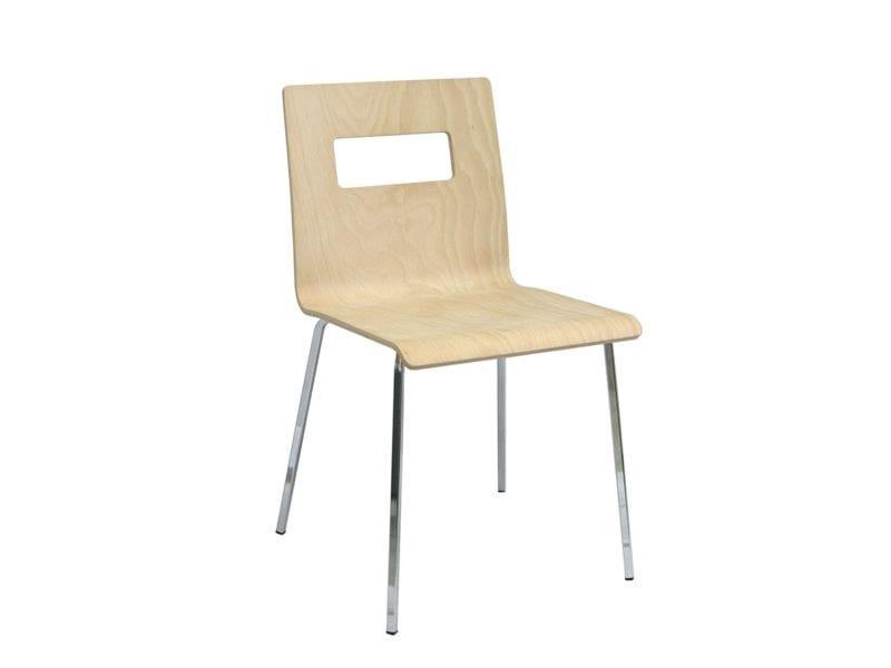Sedia in legno MISS-V by Vela Arredamenti