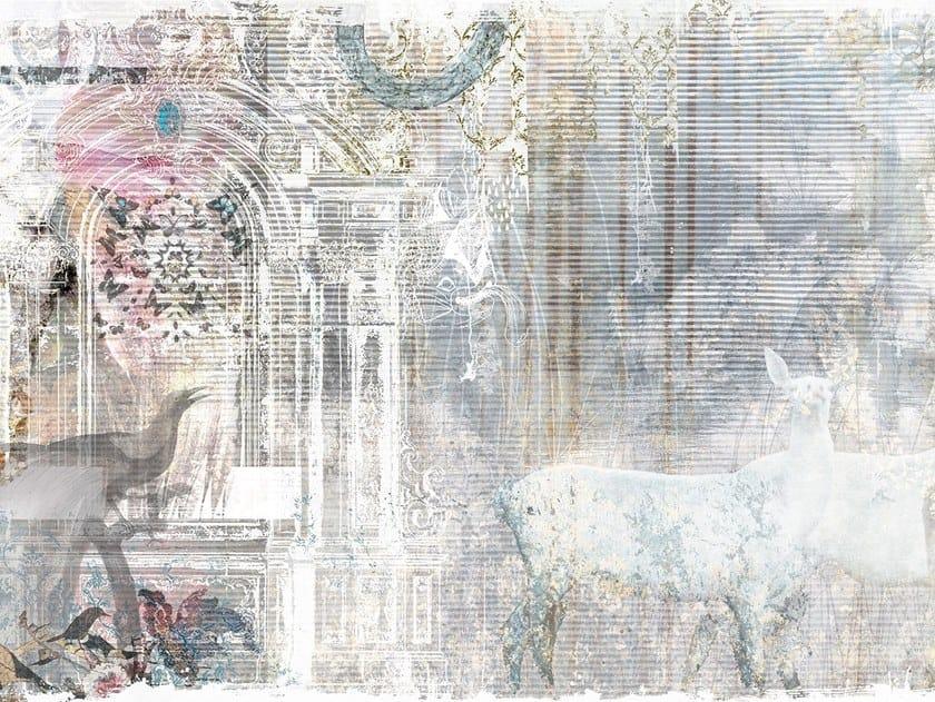 Nonwoven wallpaper MISSION by Tecnografica