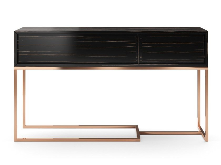 Rectangular console table with drawers MISSOURI by PRADDY