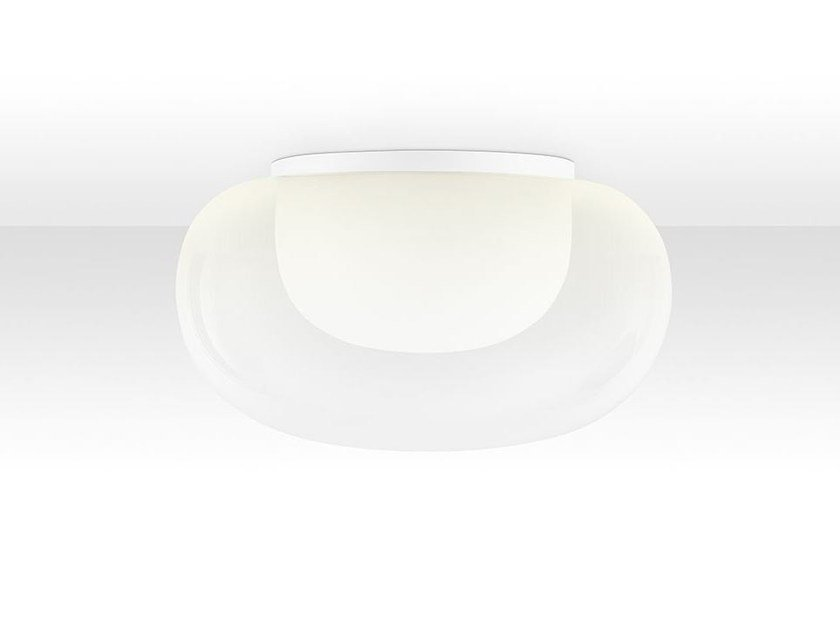 LED glass ceiling lamp MIST | Ceiling lamp by Zero