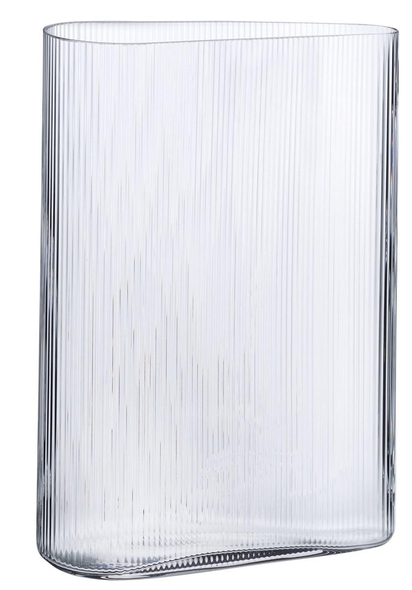 Crystal vase MIST TALL by NUDE