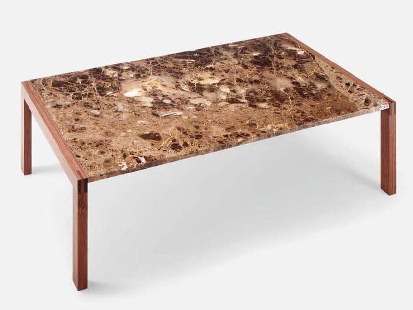 Rectangular coffee table MISTER | Rectangular coffee table by Cizeta L'Abbate