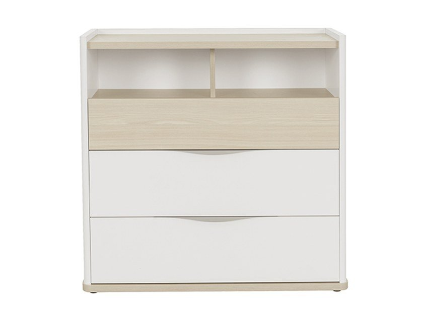 Chest with 3 drawers and 2 compartments MISTRAL | Chest of drawers by GAUTIER FRANCE