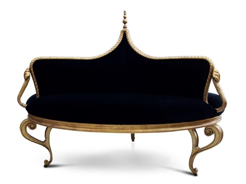 Velvet small sofa MISTRESS by KOKET